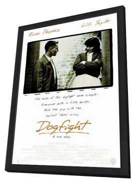 Dogfight - 27 x 40 Movie Poster - Style A - in Deluxe Wood Frame