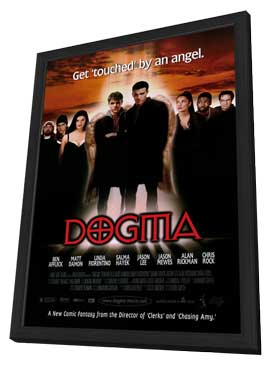 Dogma - 11 x 17 Movie Poster - Style A - in Deluxe Wood Frame