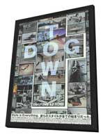 Dogtown and Z-Boys - 11 x 17 Movie Poster - Japanese Style A - in Deluxe Wood Frame