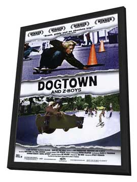 Dogtown and Z-Boys - 27 x 40 Movie Poster - Style A - in Deluxe Wood Frame