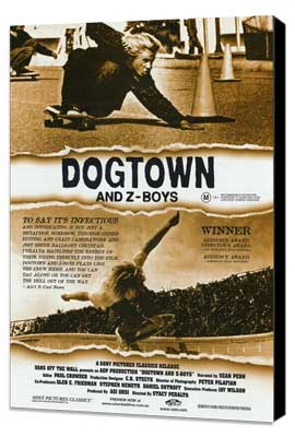 Dogtown and Z-Boys - 11 x 17 Movie Poster - Style A - Museum Wrapped Canvas