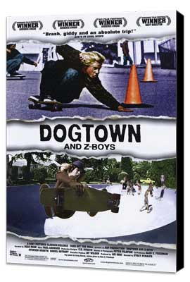 Dogtown and Z-Boys - 27 x 40 Movie Poster - Style A - Museum Wrapped Canvas