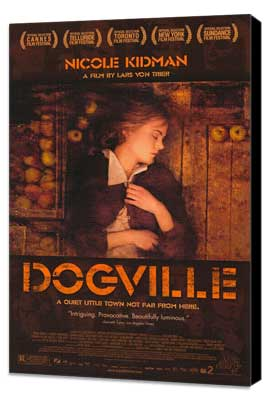Dogville - 27 x 40 Movie Poster - Style A - Museum Wrapped Canvas