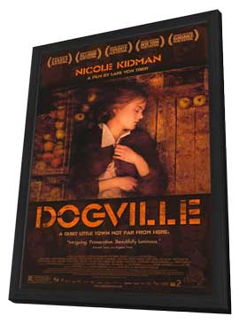 Dogville - 11 x 17 Movie Poster - Style C - in Deluxe Wood Frame