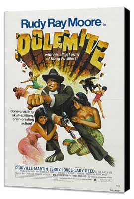 Dolemite - 11 x 17 Movie Poster - Style A - Museum Wrapped Canvas