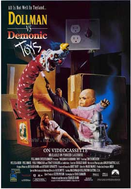 Dollman Vs Demonic Toys - 11 x 17 Movie Poster - Style A