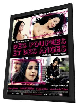 Dolls and Angels - 11 x 17 Movie Poster - French Style A - in Deluxe Wood Frame