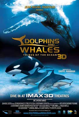 Dolphins and Whales 3D: Tribes of the Ocean - 27 x 40 Movie Poster - Style A