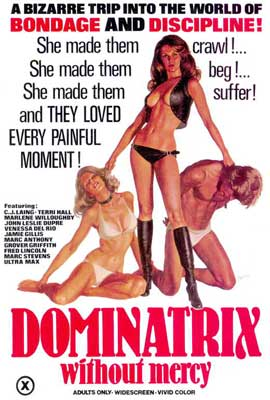 Dominatrix Without Mercy - 27 x 40 Movie Poster - Style A