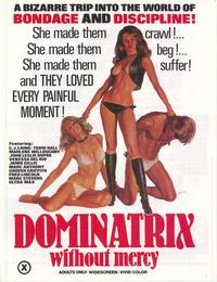 Dominatrix Without Mercy - 43 x 62 Movie Poster - Bus Shelter Style A