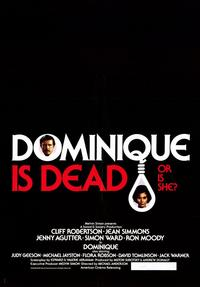 Dominique Is Dead - 11 x 17 Movie Poster - Style A