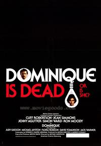 Dominique Is Dead - 27 x 40 Movie Poster - Style A