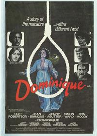 Dominique Is Dead - 11 x 17 Movie Poster - Style B