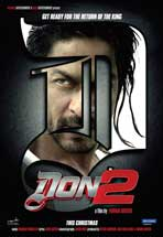 Don 2 - 11 x 17 Movie Poster - Indian Style A