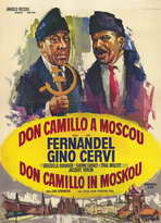 Don Camillo in Moscow - 27 x 40 Movie Poster - Belgian Style A