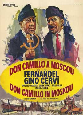 Don Camillo in Moscow - 11 x 17 Movie Poster - Belgian Style A