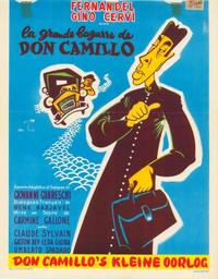 Don Camillo's Last Round - 27 x 40 Movie Poster - Belgian Style A