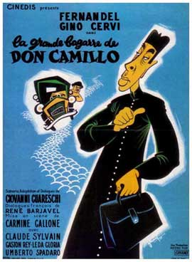 Don Camillo's Last Round - 11 x 17 Movie Poster - French Style A