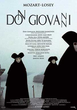 Don Giovanni - 27 x 40 Movie Poster - Spanish Style A