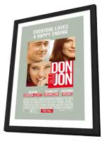 Don Jon - 11 x 17 Movie Poster - Style B - in Deluxe Wood Frame