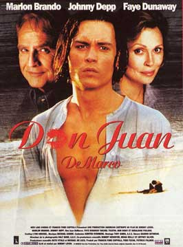 Don Juan DeMarco - 11 x 17 Movie Poster - French Style A