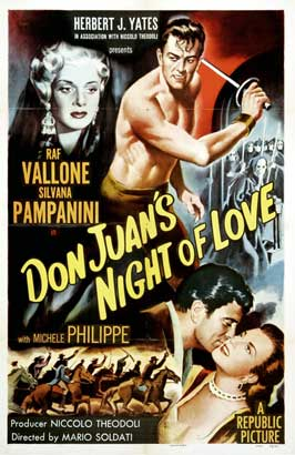 Don Juan's Night of Love - 11 x 17 Movie Poster - Style A