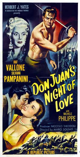 Don Juan's Night of Love - 11 x 17 Movie Poster - Style B