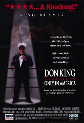 Don King: Only in America - 11 x 17 Movie Poster - Style A