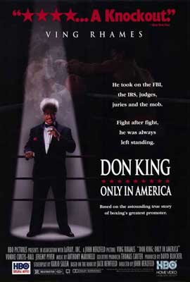 Don King: Only in America - 27 x 40 Movie Poster - Style A