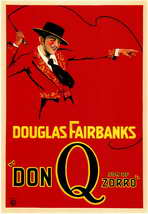 Don Q., Son of Zorro - 11 x 17 Movie Poster - Style A