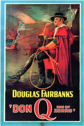 Don Q., Son of Zorro - 11 x 17 Movie Poster - Style B
