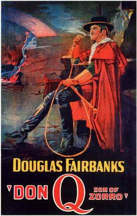 Don Q., Son of Zorro - 11 x 17 Movie Poster - Style C