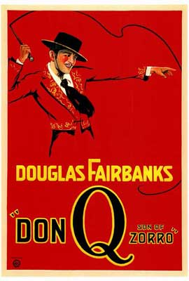 Don Q., Son of Zorro - 27 x 40 Movie Poster - Style A