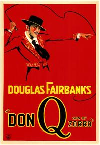 Don Q., Son of Zorro - 43 x 62 Movie Poster - Bus Shelter Style A