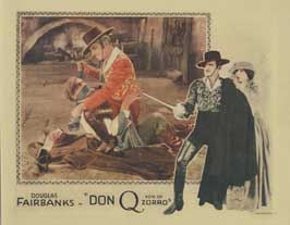 Don Q., Son of Zorro - 11 x 17 Movie Poster - Style D