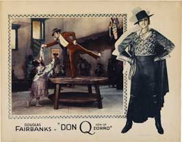 Don Q., Son of Zorro - 11 x 17 Movie Poster - Style E
