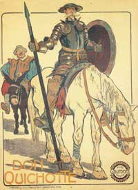Don Quichotte - 11 x 17 Movie Poster - French Style C