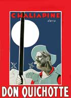 Don Quixote - 11 x 17 Movie Poster - French Style B