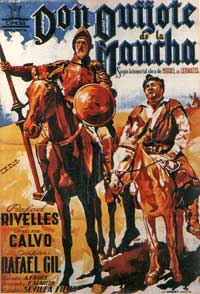 Don Quixote - 11 x 17 Movie Poster - Spanish Style A
