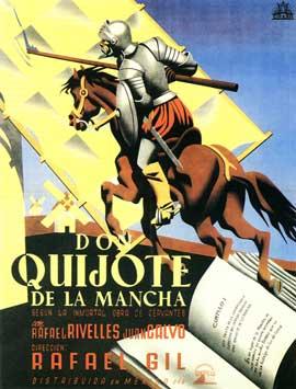 Don Quixote - 11 x 17 Movie Poster - Spanish Style B