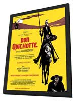 Don Quixote - 11 x 17 Movie Poster - French Style A - in Deluxe Wood Frame