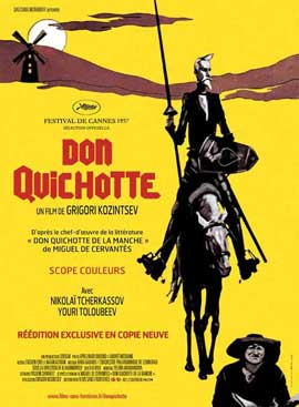 Don Quixote - 27 x 40 Movie Poster - French Style A