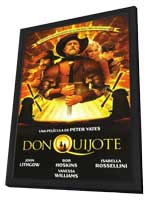 Don Quixote - 11 x 17 Movie Poster - Spanish Style A - in Deluxe Wood Frame
