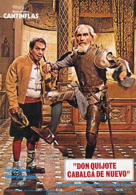 Don Quixote Rides Again - 27 x 40 Movie Poster - Spanish Style A