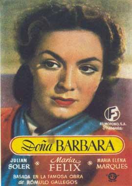 Dona Barbara - 11 x 17 Movie Poster - Spanish Style A