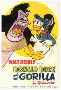 Donald Duck and the Gorilla - 27 x 40 Movie Poster - Style A