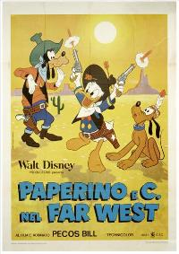 Donald Duck Goes West - 27 x 40 Movie Poster - Italian Style A