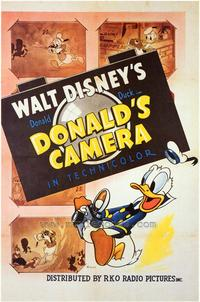 Donald's Camera - 43 x 62 Movie Poster - Bus Shelter Style A