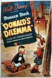 Donald's Dilemma - 11 x 17 Movie Poster - Style A
