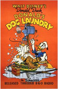 Donald's Dog Laundry - 27 x 40 Movie Poster - Style A